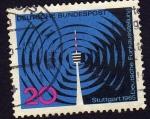 Stamps Germany -  Stuttgart  1965