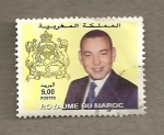 Stamps Morocco -  Rey Mohammed