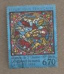 Stamps France -  Leyenda de San Estebán siglo XII
