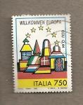 Sellos de Europa - Italia -  Bienvenidos a Europa