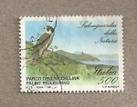 Sellos de Europa - Italia -  Halcón peregrino