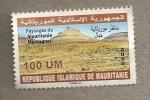 Sellos del Mundo : Africa : Mauritania : Paisaje montañas