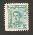 Sellos de America - Uruguay -  general jose gervasio artigas