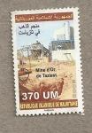 Sellos del Mundo : Africa : Mauritania : Mina de oro de Taziast