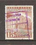 Sellos de America - Venezuela -  Oficina de Correos de Caracas.