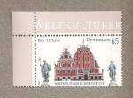 Stamps Germany -  Tesoros de la Cultura, UNESCO, Riga
