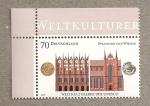 Stamps Germany -  Tesoros de la Cultura, UNESCO, Stralsund y Wismar