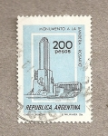 Stamps America - Argentina -  Monumento a la Bandera, Rosario