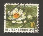 Stamps Germany -  nenúfar