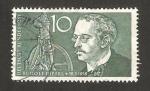 Stamps Germany -  156 - Centº del nacimiento de Rudolf Diesel