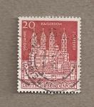 Stamps Germany -  Catedral del emperador Zu Speyer