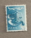Stamps Israel -  Balanza