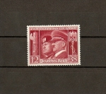 Stamps Europe - Germany -  Efigies de Mussolini y Hitler