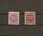 Stamps Europe - Germany -  Weimar.