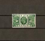 Stamps United Kingdom -  Jubileo Jorge V