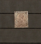 Stamps Europe - United Kingdom -  Jorge V / India Inglesa