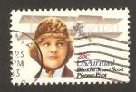 Stamps : America : United_States :  93 - Blanche Stuart Scott, piloto de aviación