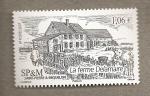 Stamps America - San Pierre & Miquelon -  La granja Delamaire