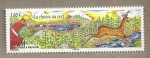 Stamps America - San Pierre & Miquelon -  La caza del ciervo