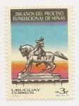 Stamps Uruguay -  200 Años del proceso fundacional de Minas