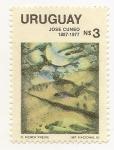 Sellos de America - Uruguay -  José Cúneo
