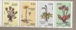 Sellos del Mundo : America : San_Pierre_&_Miquelon : Plantas endémicas de la isla