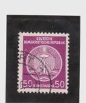 Stamps Germany -  escudo de la república