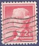 Sellos de America - Estados Unidos -  USA Jefferson 2