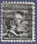 Sellos del Mundo : America : Estados_Unidos : USA Lincoln 4c