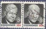 Sellos del Mundo : America : Estados_Unidos : USA Eisenhower 8 (doble)