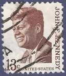 Stamps United States -  USA Kennedy 13
