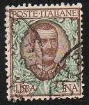 Sellos de Europa - Italia -  Vittorio Enmanuel III