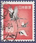 Sellos de Asia - Japón -  JAPÓN Cigüeñas 100 simple