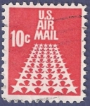 Stamps United States -  USA Stars 10 airmail