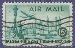 Sellos del Mundo : America : Estados_Unidos : USA New York 15 airmail