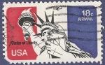 Sellos de America - Estados Unidos -  USA Statue of Liberty 18 airmail (2)