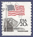 Stamps United States -  USA Flag 20 (2)