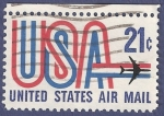 Stamps United States -  USA Airmail 21 (2)