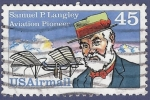 Stamps United States -  USA Samuel P. Langley 45