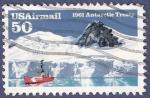 Sellos de America - Estados Unidos -  USA 1961 Antartic Treaty 50 airmail