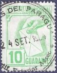 Stamps Paraguay -  PARAGUAY Sobretasa pro cartero 10