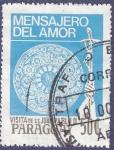 Sellos de America - Paraguay -  PARAGUAY Visita papa JPII 50 (1)