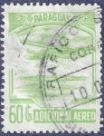 Sellos de America - Paraguay -  PARAGUAY Aéreo 60 (estropeado)