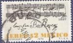 Sellos de America - México -  MÉXICO Beethoven 2