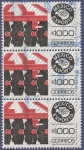 Stamps Mexico -  MÉXICO Exporta maq. agrícola 1000 (triple)