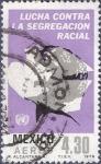 Stamps Mexico -  MÉXICO Lucha racial 4.30