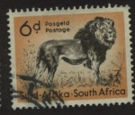 Stamps South Africa -  Aniamles Salvajes