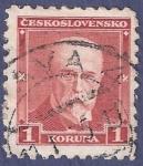 Stamps Czechoslovakia -  CHECOSLOVAQUIA Rojo 1