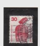 Stamps Germany -  prevención de accidentes