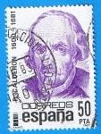 Stamps Spain -  Pedro Calderon de la Barca ( 1600-1681 )